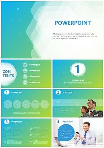 公司项目团队简介PPT模板