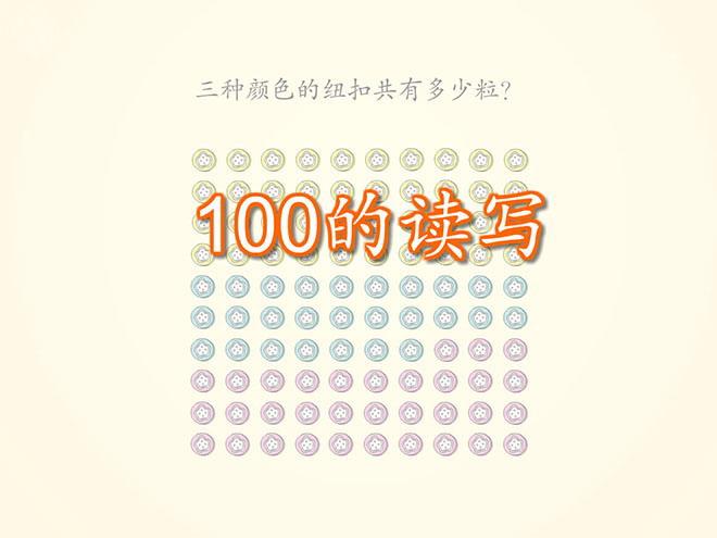 《读数写数》100以内数的认识Flash动画课件二